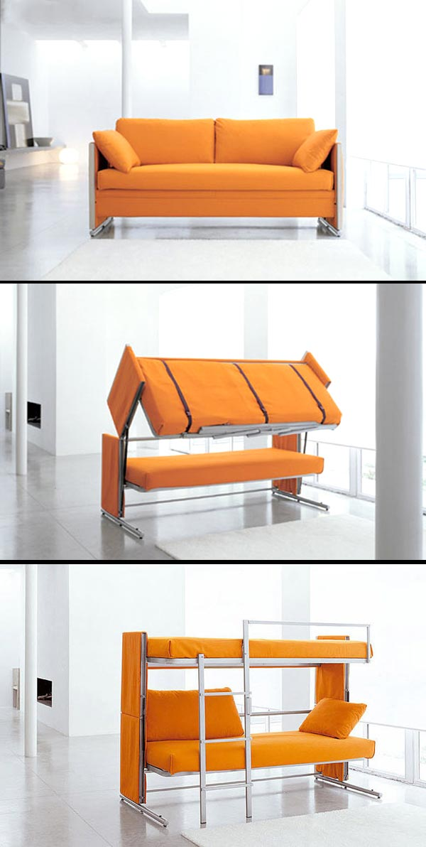 Cool Couch Transform Into Bed 7 Images