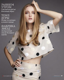 Magazine Photoshoot : Vlada Roslyakova Photoshot For Elle Magazine Russia February 2014 Issue