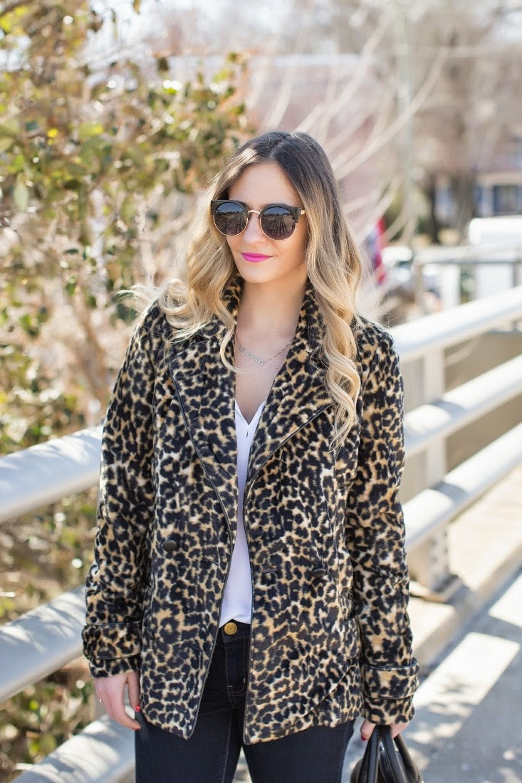 Leopard Winter Coat