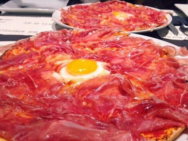 COMIDA CENA PIZZA PIZZERIA CREP NOVA BARCELONA MAGICA BCN magica barcelona dulces restaurantes merienda