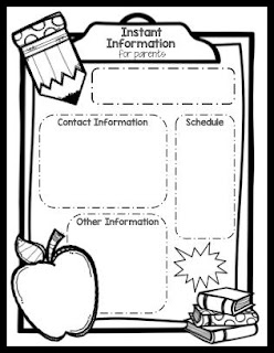 https://www.teacherspayteachers.com/Product/EDITABLE-Information-Sheet-for-Back-to-School-Night-1996943