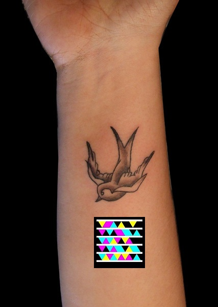 For example a RIP tattoo could take you to videos or slideshows of photos
