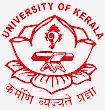 Kerala University Time Table 2015