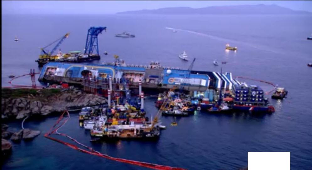 Alassiofutura isola del giglio collegamento in diretta for Diretta da montecitorio