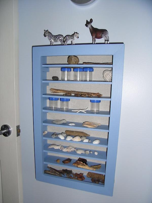 Pottery Barn Wall Display Shelf