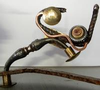 """Sculpture métal """" La Belle et la Bête """" par Ama sculpteur"""