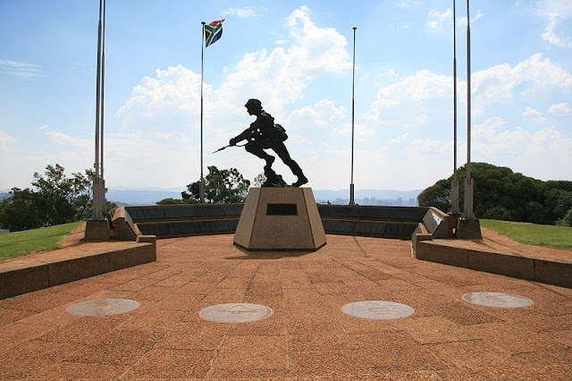 South African Defence Force Memorial at Fort Klapperkop, Pretoria