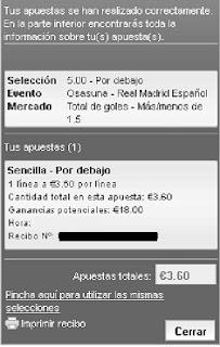 Apuestas Deportivas Rosberg Fútbol–Liga BBVA España Real Madrid Osasuna lbapuestas