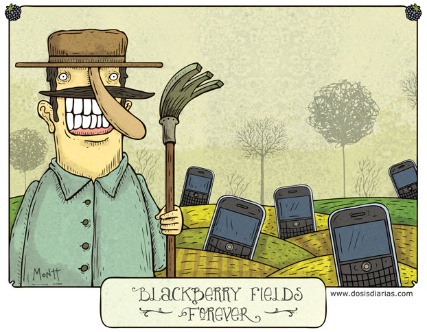 Blackberry Fields Forever