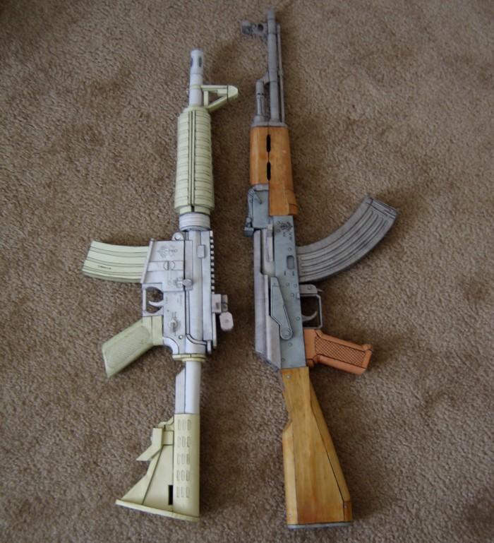Create2destroy Shook Guns Part 10 Papercraft