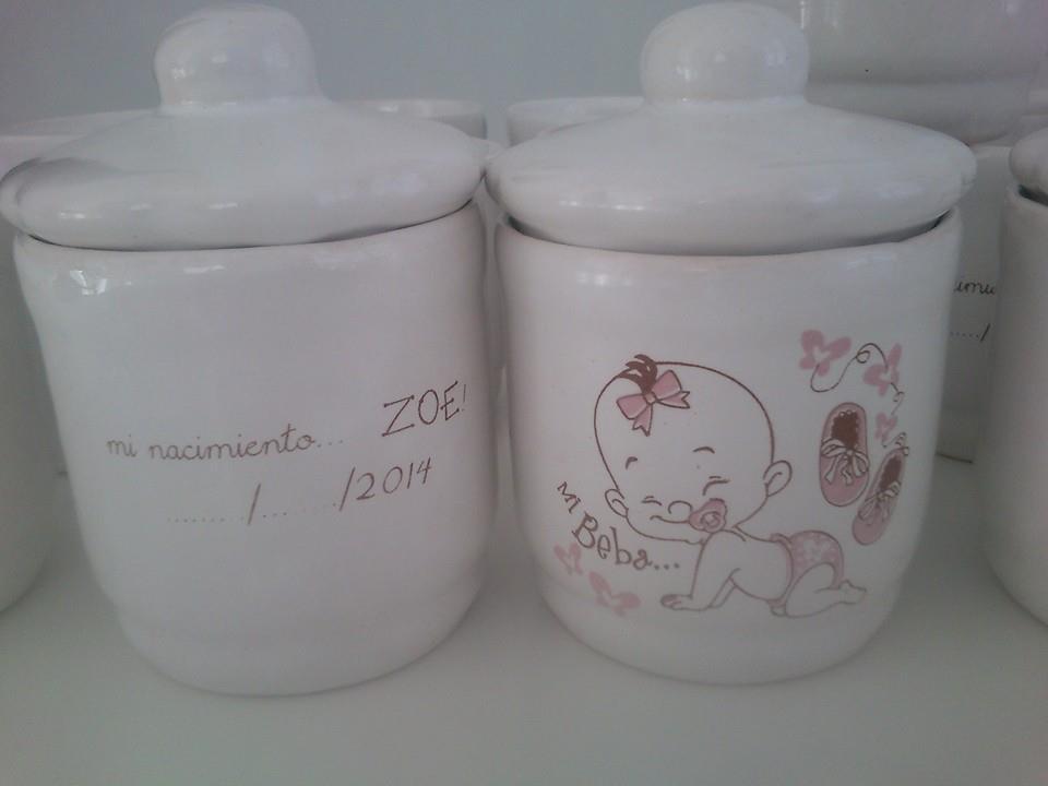 Tazas de ceramica y vajilla especiales y personalizadas for Vajillas bebe personalizadas