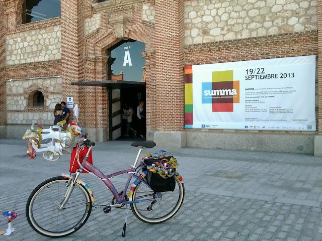 Summa art fair, 2013, Matadero, Madrid, feria de arte, El matadero, exposiciones, blog de arte, voa-gallery, yvonne brochard,