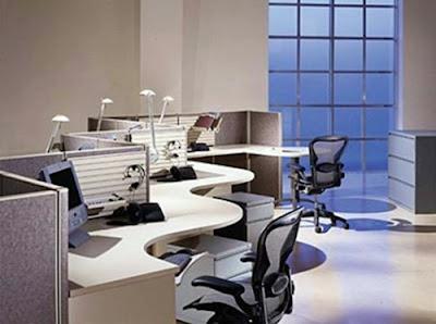 desain kantor minimalis modern 4
