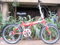 Sepeda Lipat Darson 6 Speed Shimano 20 Inci