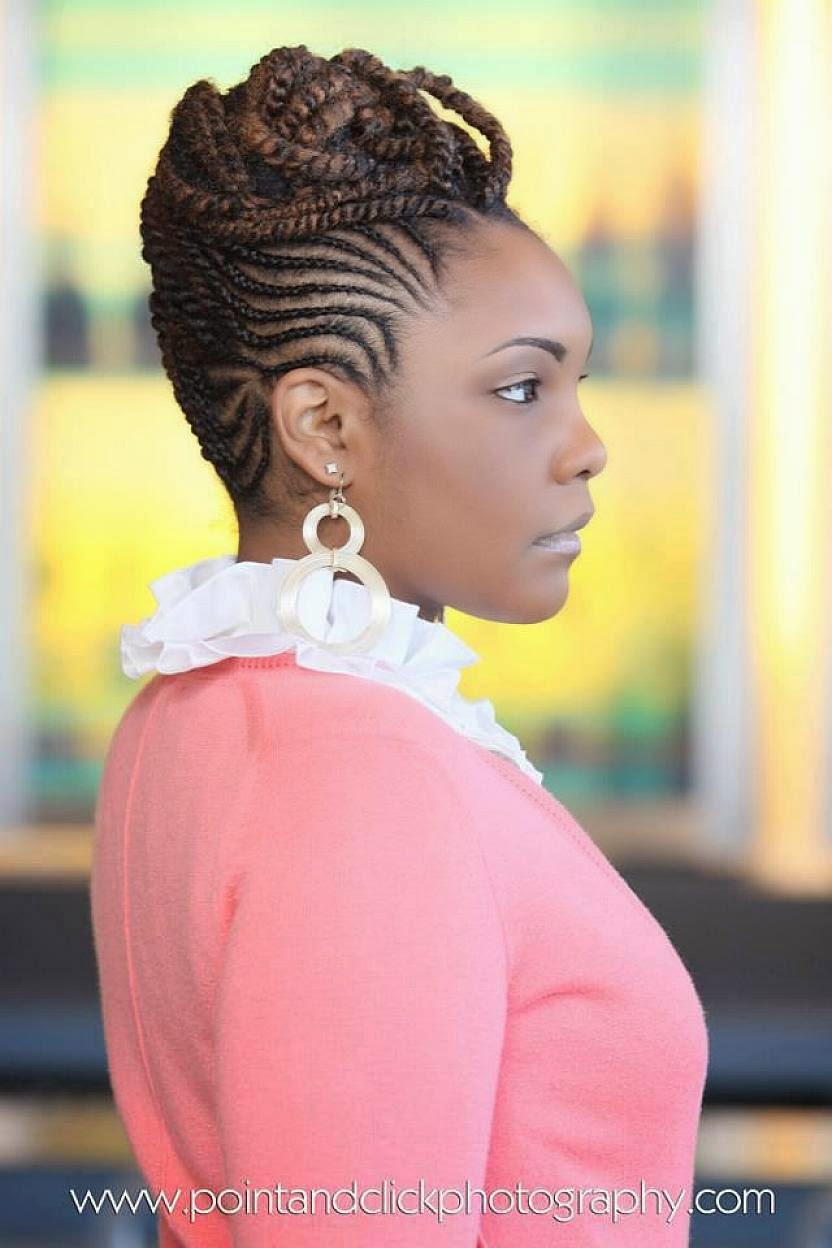 Top 39 Easy Braided Natural Hairstyles | Hairstyles Gallery