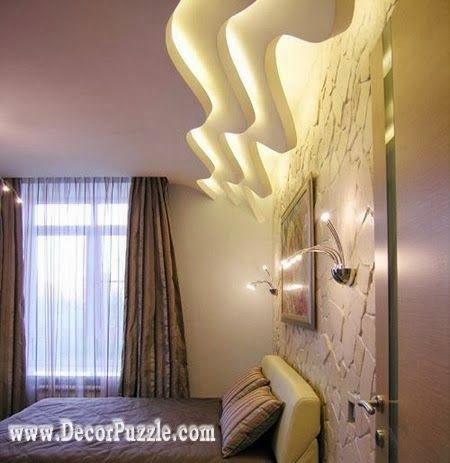 plaster of paris ceiling designs for bedroom pop design 2015 2016 - Plaster Of Paris Wall Designs