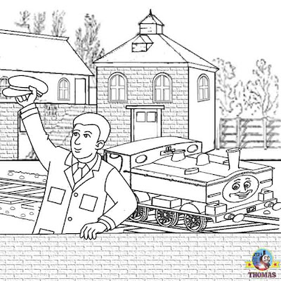 GWR Thomas the train coloring pictures for kids to print out and color duck the great western engine
