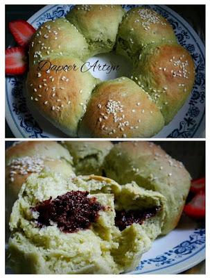 Resep Roti Sobek Green Tea Ala Dapoer Artyn