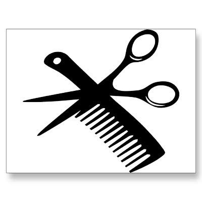 Similiar Cartoon Scissors And Comb Keywords