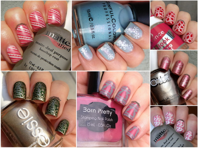 Christmas 2015 nail arts