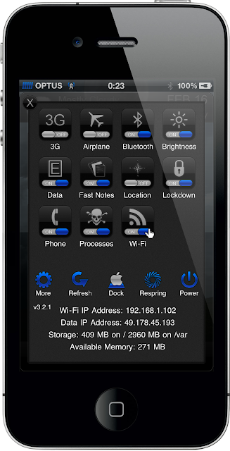 Dezire HD [theme for iPhone]