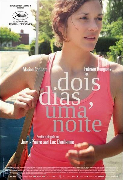 """Poster do filme """"Dois Dias, Uma Noite"""""""