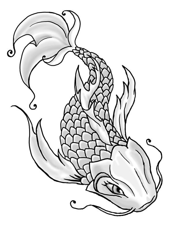 jmdunn art and animation koi fish tattoo. Black Bedroom Furniture Sets. Home Design Ideas
