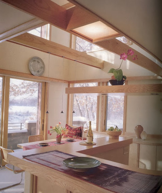 vaulted-ceilings-and-windows-in-kitchen
