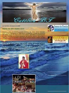 Conheça o Blog Católico de BF