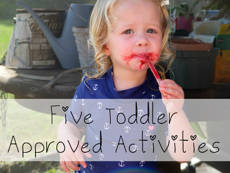 Sweet Turtle Soup: Five Toddler Approved Activities