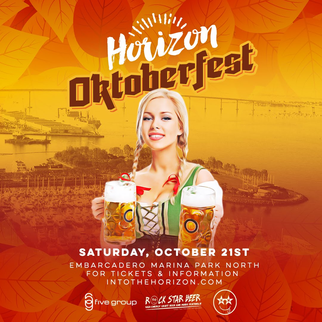 Save on passes & Enter to win VIP tickets to San Diego's Horizon Oktoberfest - October 21