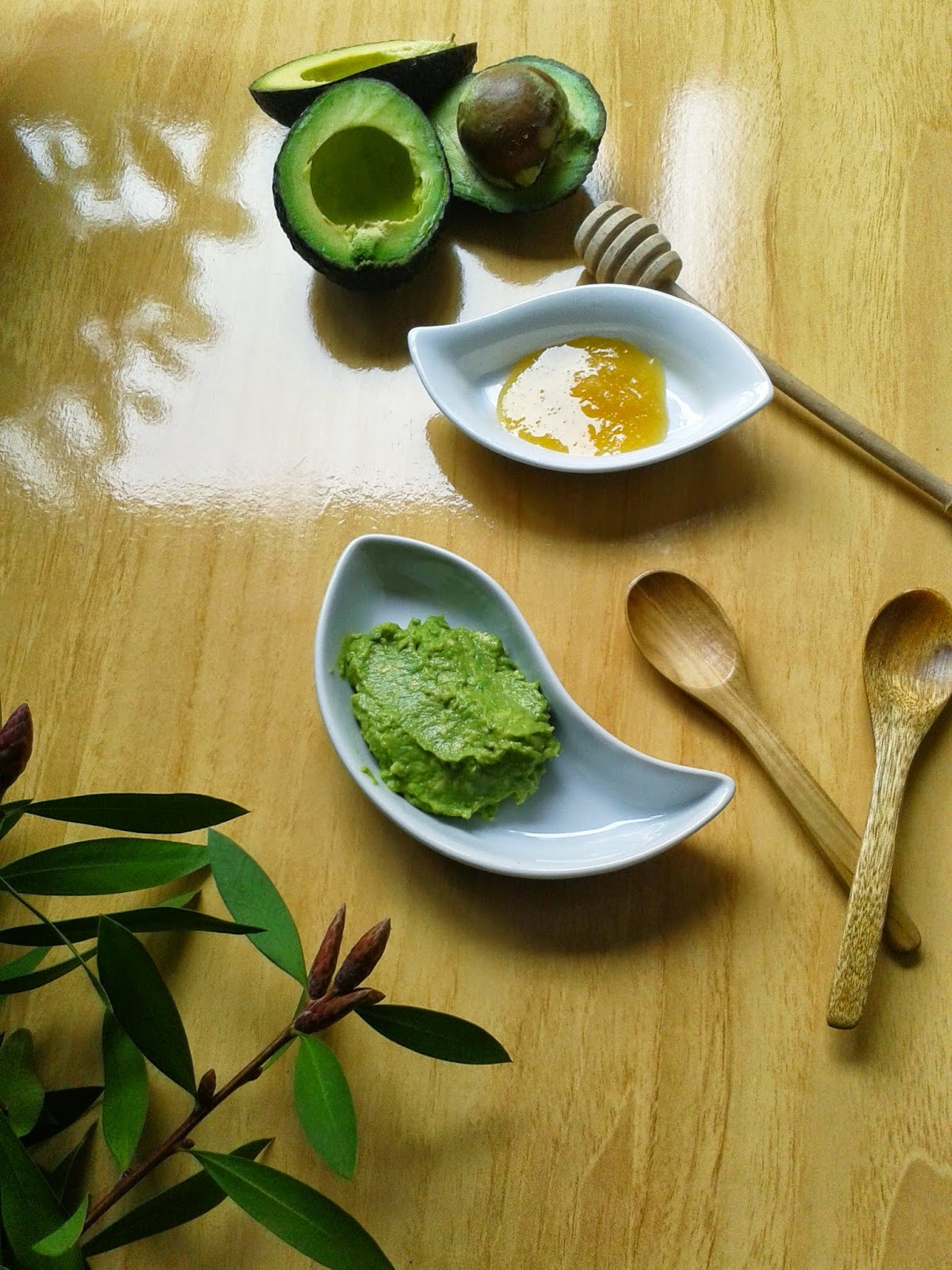 homemade avocado mask