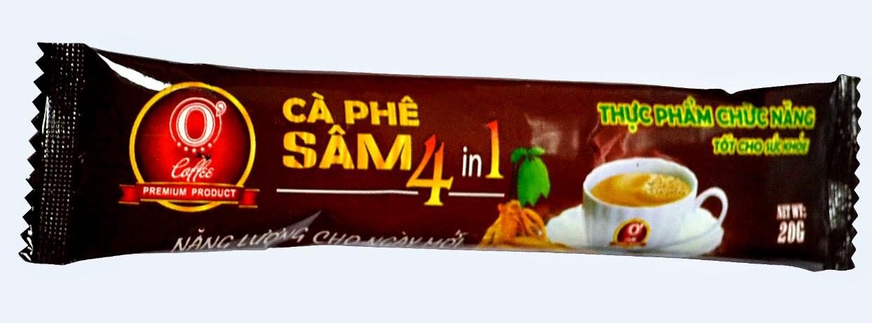 Thực phẩm chức năng O' Coffee Ocewa Cà phê Sâm 4 in 1