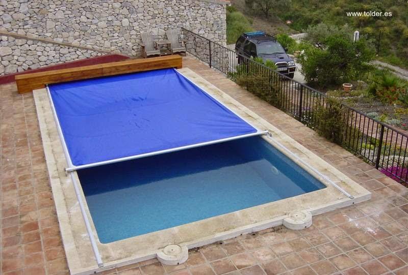 Arquitectura de casas piscinas para casas residenciales - Cubierta para piscinas ...