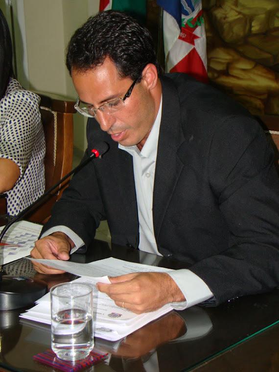 Vereador professor Samuel Gazolla