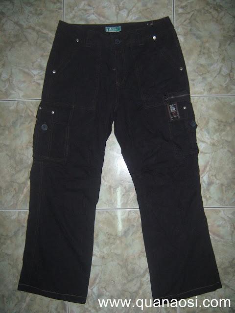 Quần kaki túi hộp màu đen U.G.I.Z RETRO 180k