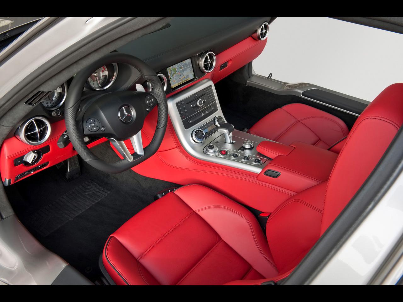 fast cars online mercedes benz sls amg interior - Mercedes Benz Sls Amg Interior