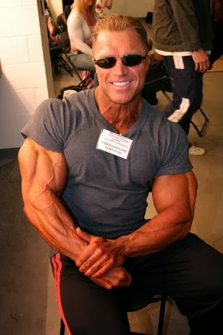 gary strydom strong muscle