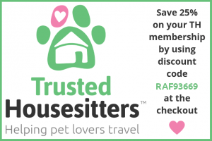 Descuento 25% TrustedHousesitters