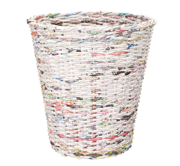 How to recycle recycled newspaper ideas for Recycled products ideas