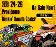 Monster Jam in Providence, Rhode Island  Giveaway!!  2 winners