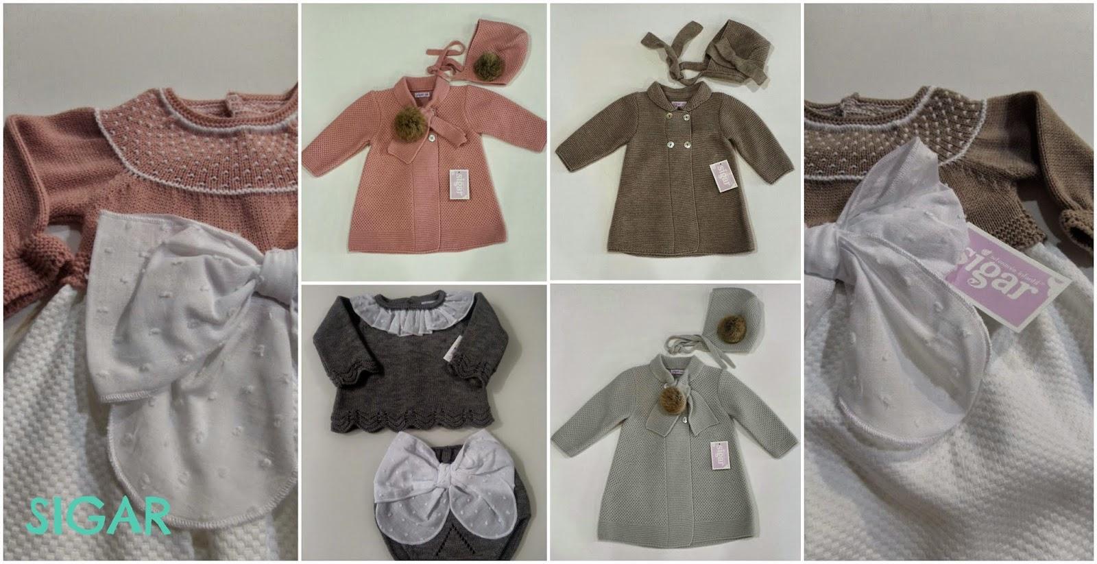 ropa de punto para bebé de Sigar