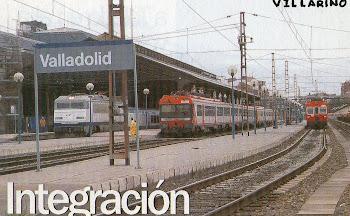 Varios trenes estación de Valladolid.