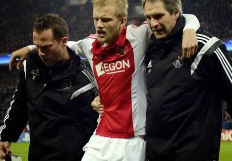 "Bek Ajax ""Nicolai Boilesen"" Absen Sepuluh Pekan"