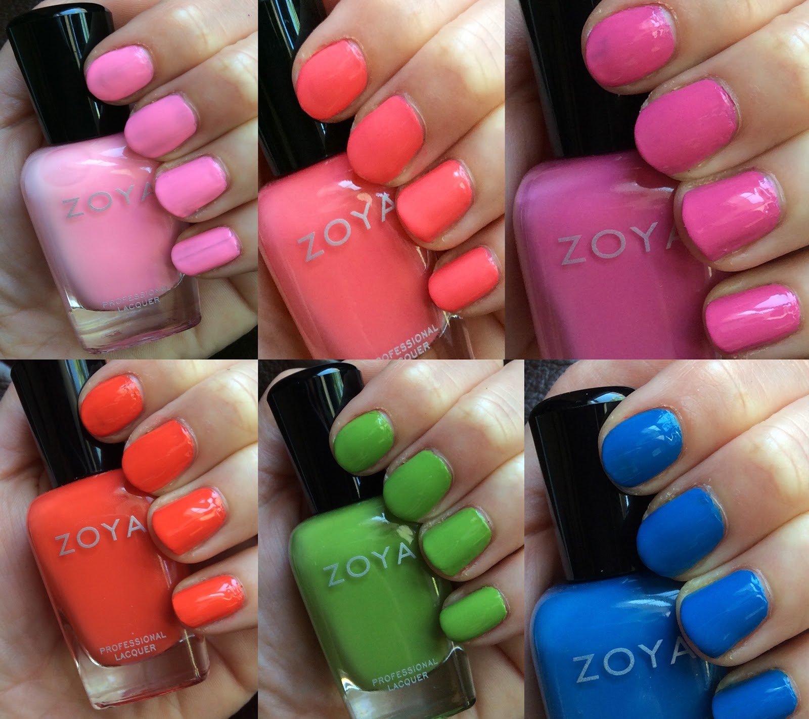 The Beauty Of Life: Zoya Summer 2014 Tickled Collection