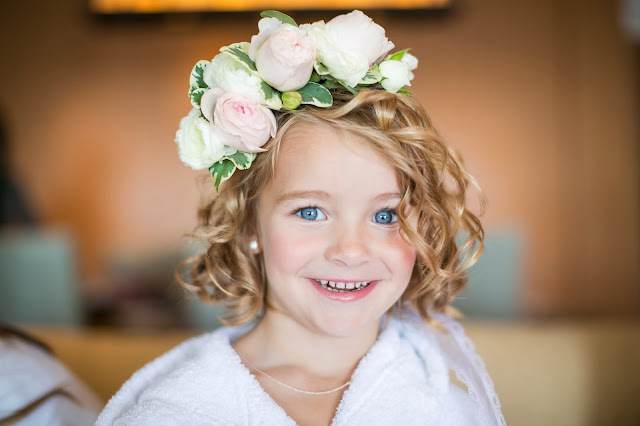 Santa Barbara Beach Wedding Floral Crown