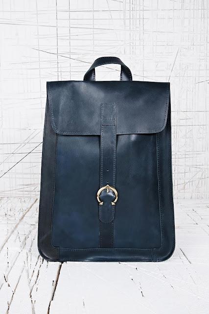 blue vintage bag