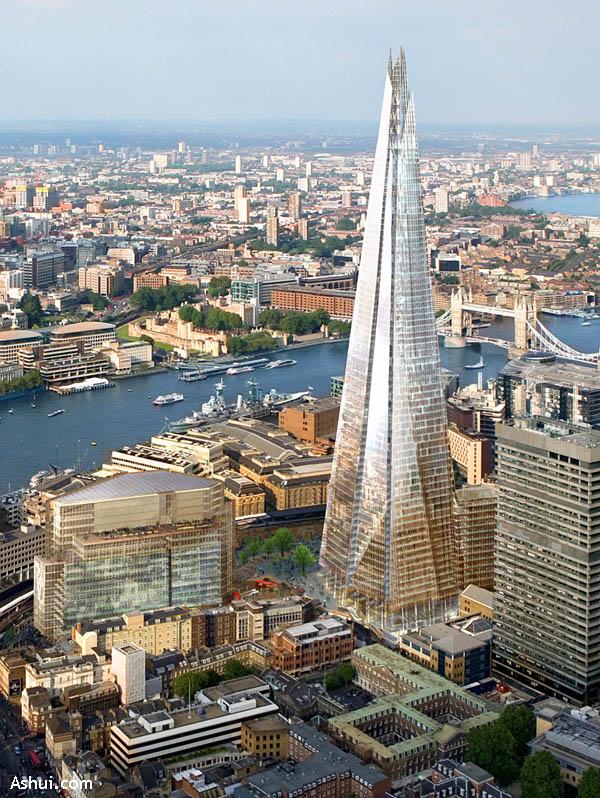 """Tháp """"The Shard"""" ở London (Anh)"""