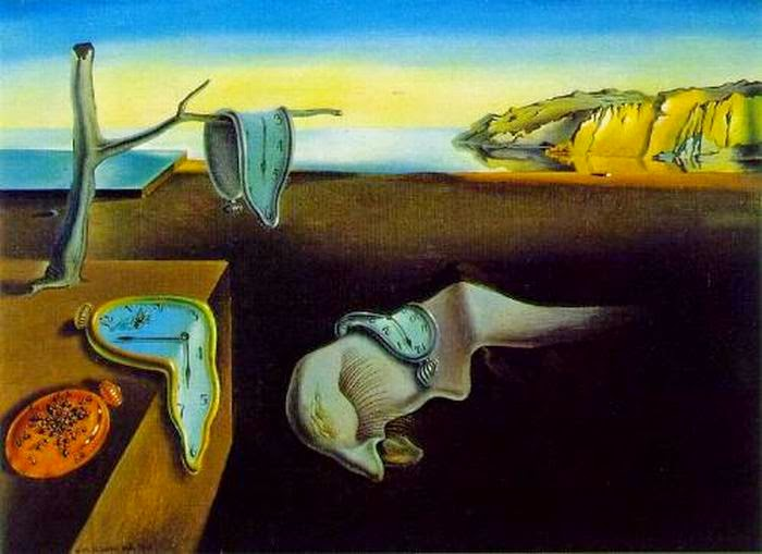 10 Out Of The Most Beautiful Paintings Of All Time - The Persistence of Memory by Salvador Dali (1931)