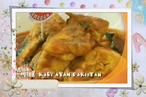 Ketuk-ketuk Ramadan 2014 bersama Hisham Hamid - Kari Ayam Pakistan, Sambal Goreng Nyai